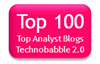 Technobabble 2.0 Top 100 analyst blogs